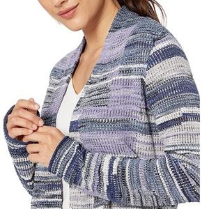 NWT Nic+Zoe fair and square open cardigan XSP